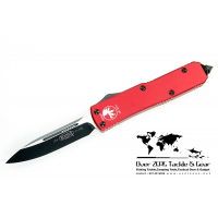 มีดออโต้ Microtech Green UTX-85 D/A OTF Automatic Knife (Black PLN) 125-1GR Limited