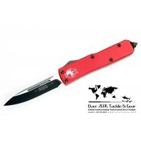 มีดออโต้ Microtech Green UTX-85 D/A OTF Automatic Knife (Black PLN) 125-1RD Limited