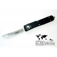 "มีดออโต้ Microtech Ultratech D/A OTF Tanto Automatic Knife (3.44"" Satin Plain) 123-4"