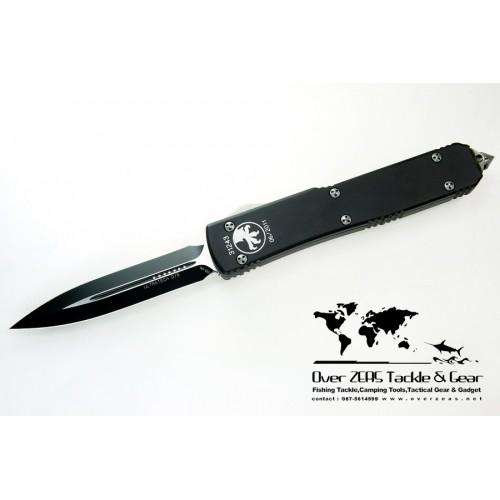 มีดออโต้ Microtech Ultratech D/E Black Standard 122-1