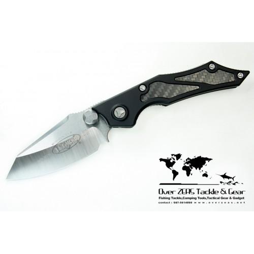 """มีดออโต้ Microtech Select Fire M/A Knife Manual Folder (3.5"""" Satin Plain) 129-4"""