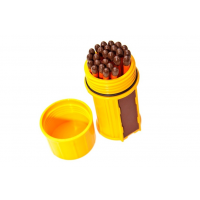 ไม้ขีดไฟกันน้ำกันลม UCO Stormproof Match Kit (Yellow)