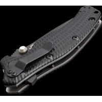 """มีดพับ Zero Tolerance Model 0300 Assisted 3-3/4"""" S30V Plain Blade, Black G10 and Titanium Back Handles"""