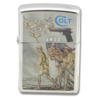 ไฟแชค Zippo Colt Model 1911 100th Anniversary Commemorative Lighter (Limited)