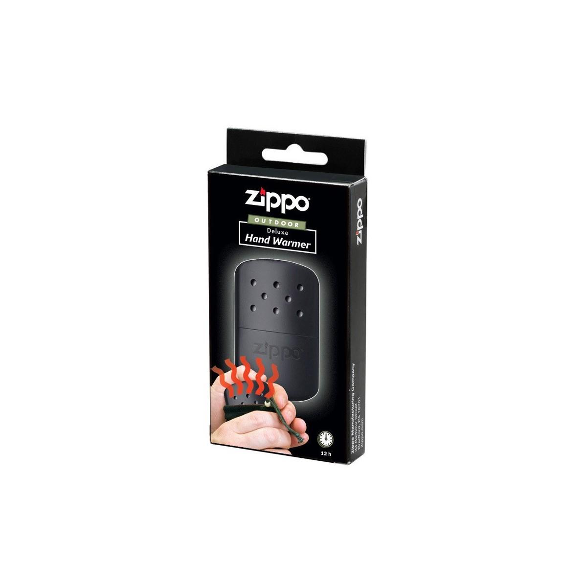 """ฮีทเตอร์พกพา Zippo """"Deluxe Hand Warmer"""" Black 40285"""