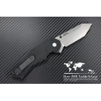 """มีดพับ Zero Tolerance (ZT) Model 0700 Folder 3.375"""" S30V Tanto Stonewash Blade, G10 Handles"""
