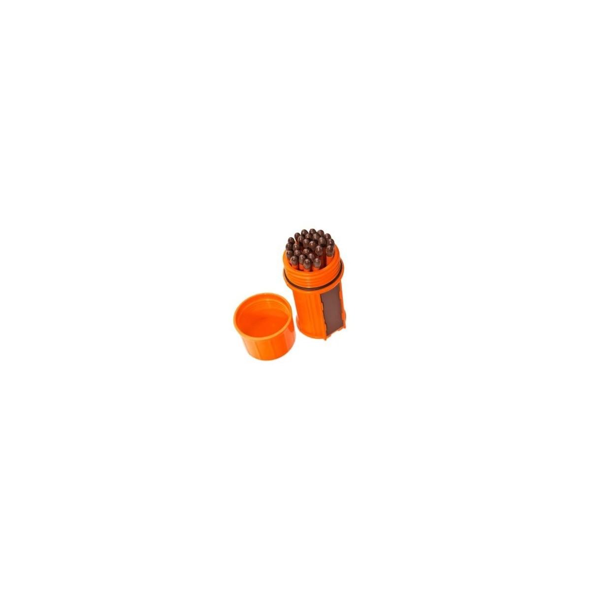 ไม้ขีดไฟกันน้ำกันลม UCO Stormproof Match Kit (Orange)