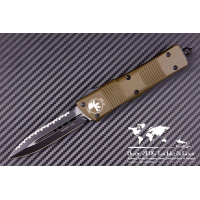 "มีดออโต้ Microtech OD Green Troodon D/E OTF Automatic Knife (3"" Black Full Serr) 138-3GR"