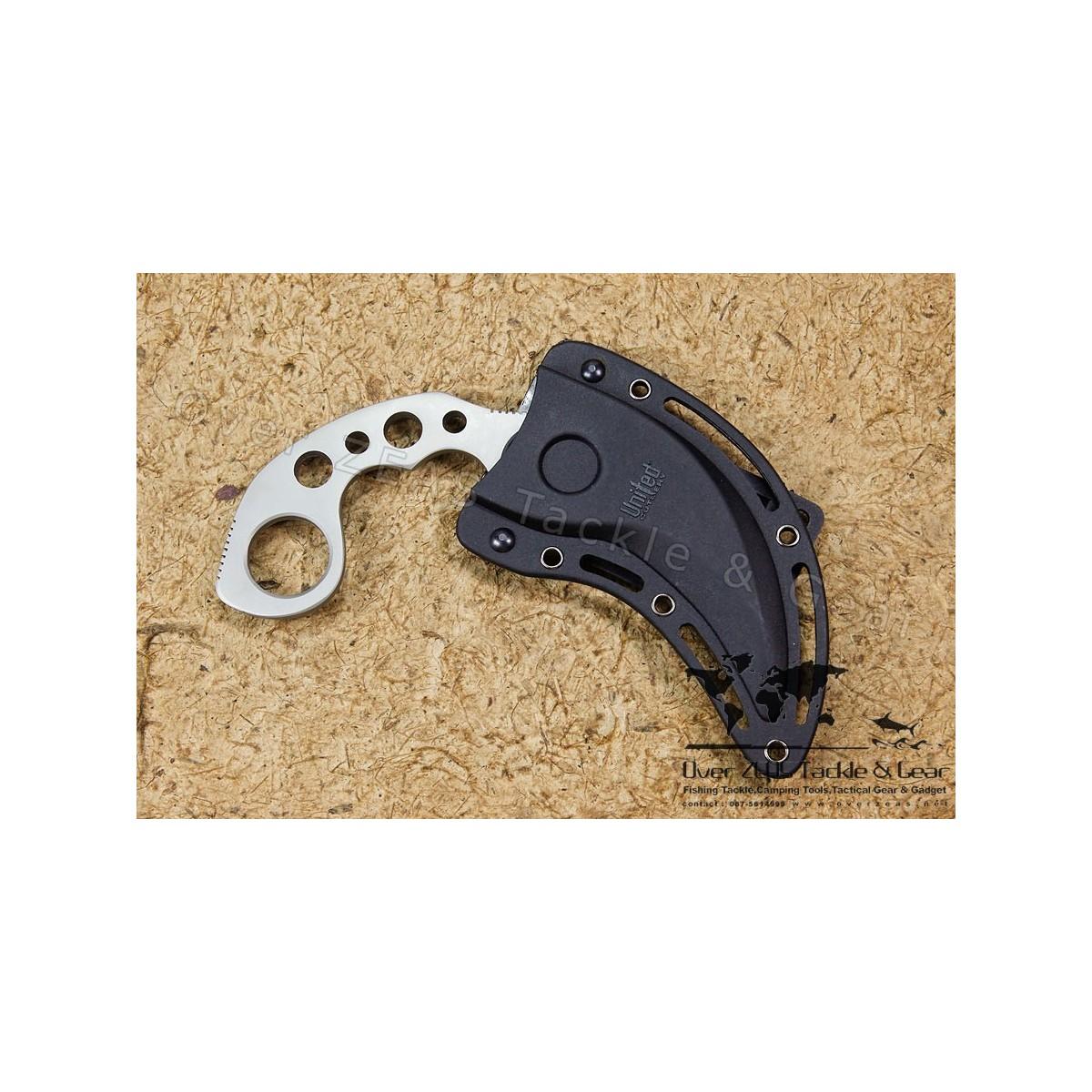 """มีดคารัมบิท United Cutlery Undercover Karambit 3-5/16"""" Fixed Blade"""