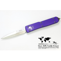 มีดออโต้ OTF Microtech Ultratech Bayonet Grind 120-4 Purple Satin  Plain
