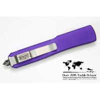 มีดออโต้ Microtech Ultratech Purple D/E Plain Satin 122-4PU