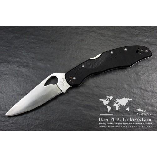 """มีดพับ Spyderco Byrd Cara Cara2 Folding Knife 3-3/4"""" Plain Flat-Ground Blade, G10 Handles,BY03GP2"""