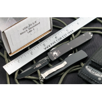"Microtech UTX70 D/A OTF S/E Automatic Knife (2.4"" Black Plain) 148-1"