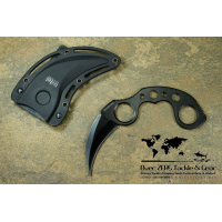 "มีดคารัมบิท United Cutlery Undercover Karambit 3-5/16"" Fixed Blade (Black)"