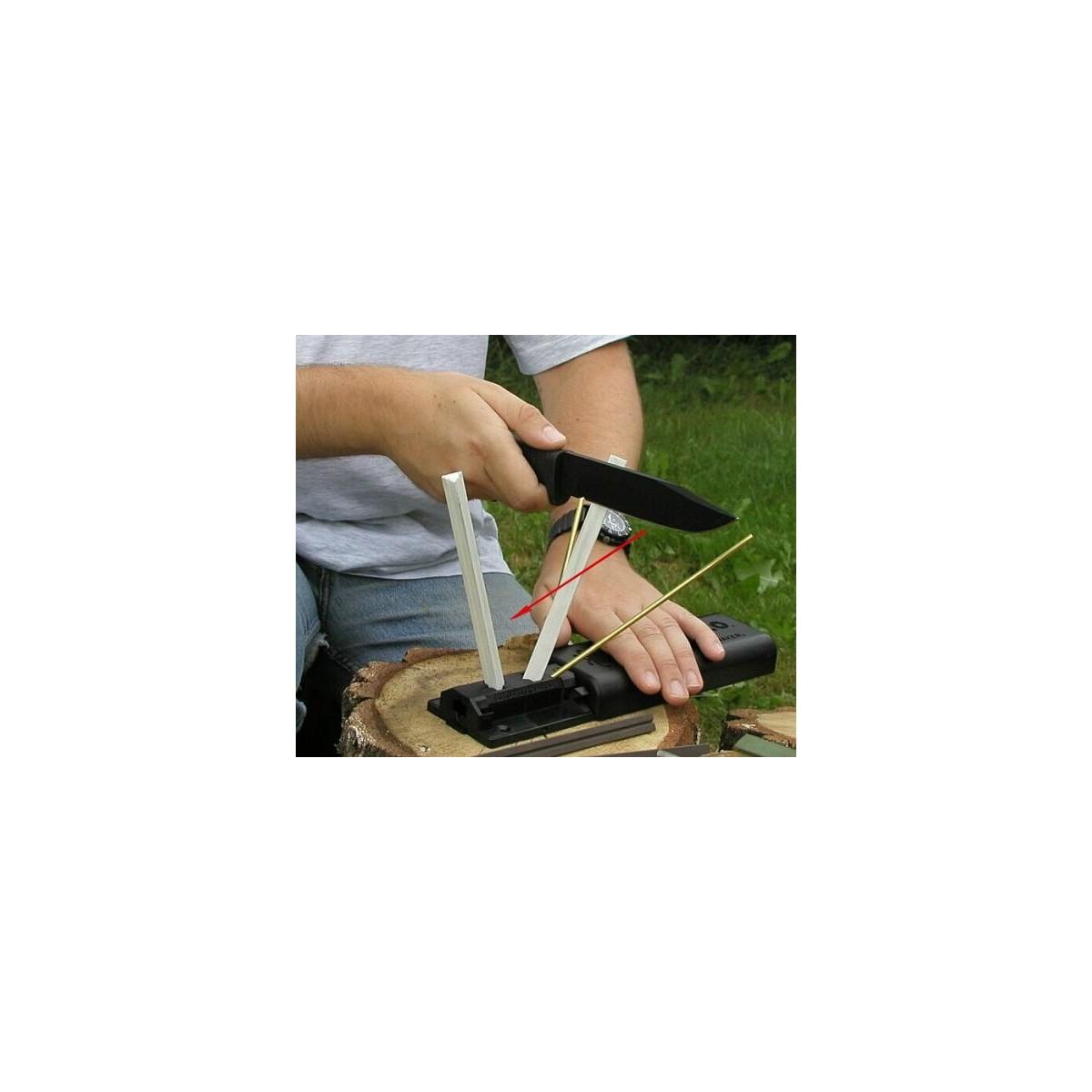 ชุดลับมีด ที่ลับมีด Spyderco 204MF Sharpmaker Standard Complete Set Medium and Fine Grit Rods