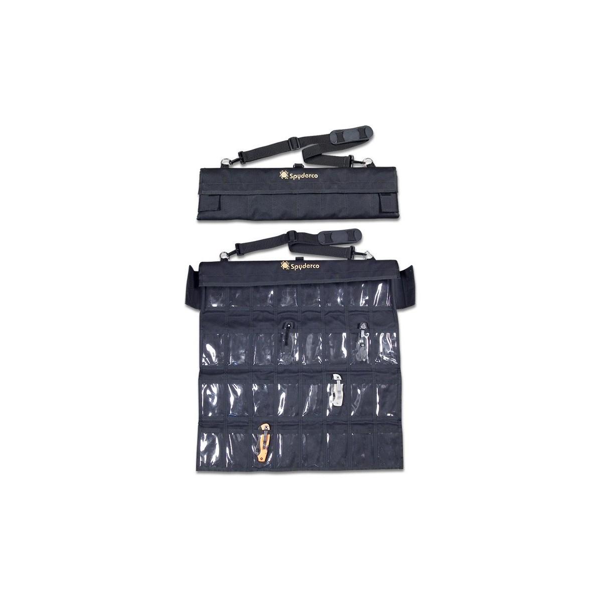 กระเป๋าใส่มีด Spyderco Spyderpac Cordura Large Carrying Case, Holds 30 Folding Knives,SP1