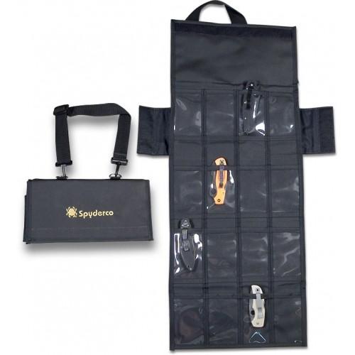 กระเป๋าใส่มีด Spyderco Spyderpac Cordura Small Carrying Case, Holds 18 Folding Knives,SP2