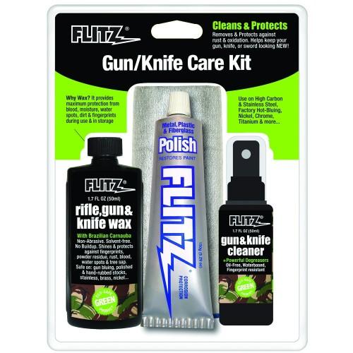 ชุดดูแลและบำรุงรักษามีดและปืน Flitz Gun & Knife Care Kit,KG41501