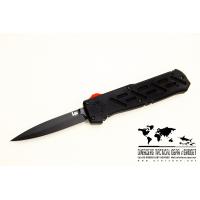 """มีดออโต้ H&K Epidemic OTF Automatic Knife (3.44"""" Black Plain) 14850BK"""