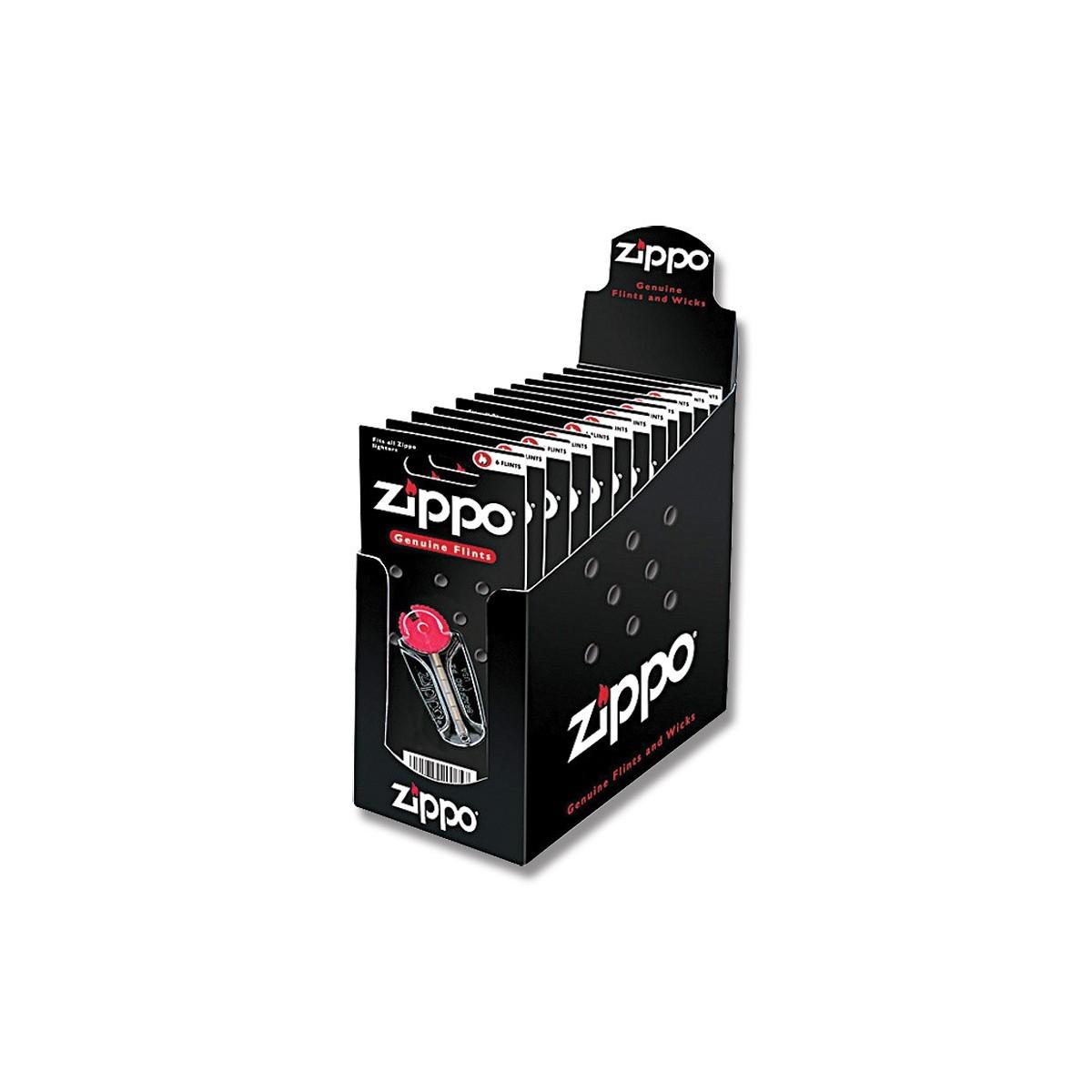 ถ่านไฟแชคซิปโป้ Zippo 6 Genuine Replacement Flints,2406N