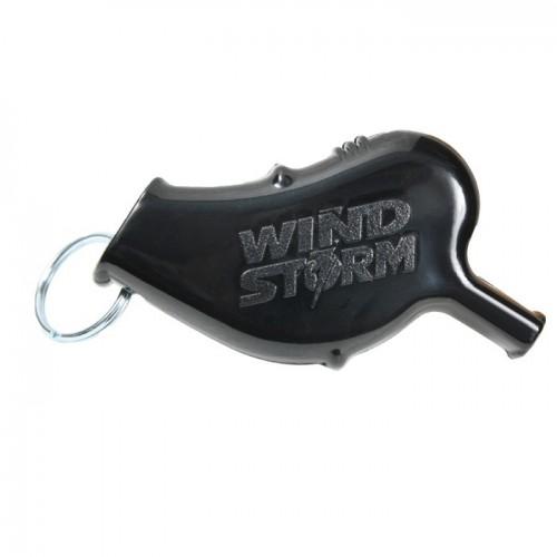 นกหวีดที่ดังที่สุดในโลก Windstorm Whistle (Black)