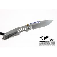 """มีดพับ Chris Reeve Ti-Lock Knife Folding S35V Blade Titanium Handle (3.25"""" Plain)"""