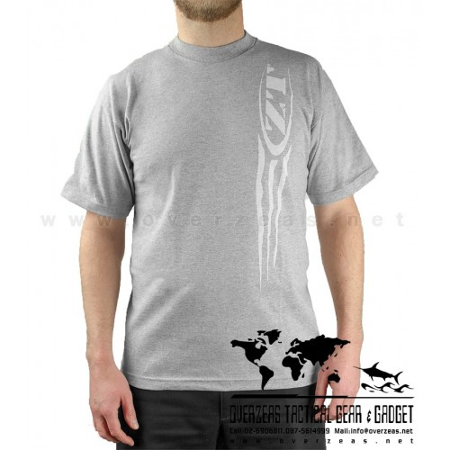 เสื้อยืด ZT Claw  (Zero Tolerance) 100% Cotton,Made in USA, ไซส์ M