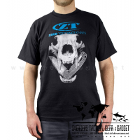 เสื้อยืด ZT Skull  (Zero Tolerance) 100% Cotton,Made in USA, ไซส์ M