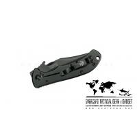 """มีดพับ Kershaw CQC-2K Emerson Knife (2.75"""" Black Plain) 6024BLK"""