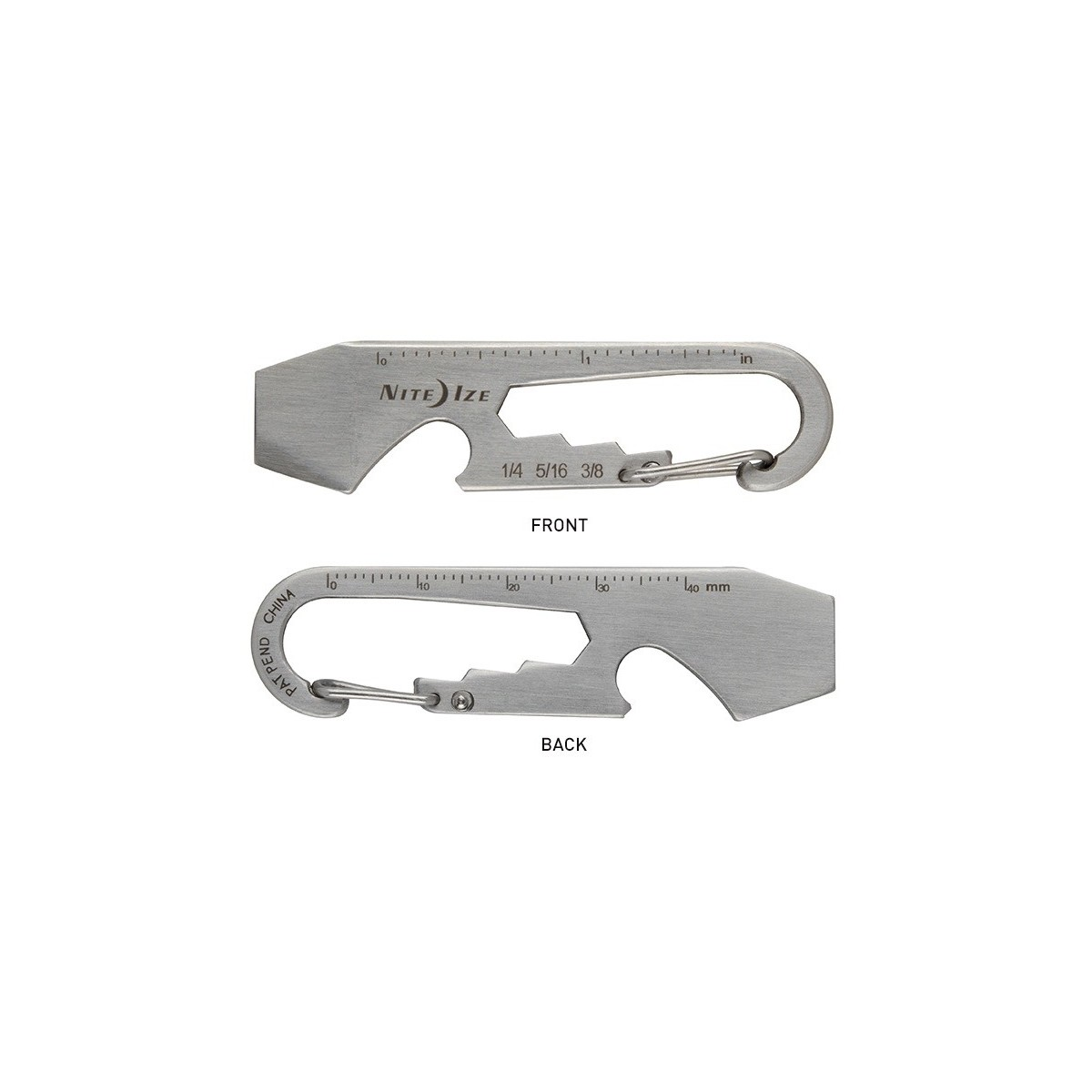 พวงกุญแจ Nite Ize DoohicKey Keychain Multi-Tool (KMT-11-R3)