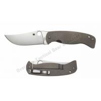 """มีดพับ Spyderco Farid Mehr K2 Frame Lock Knife (4.5"""" Satin) C185TIP"""