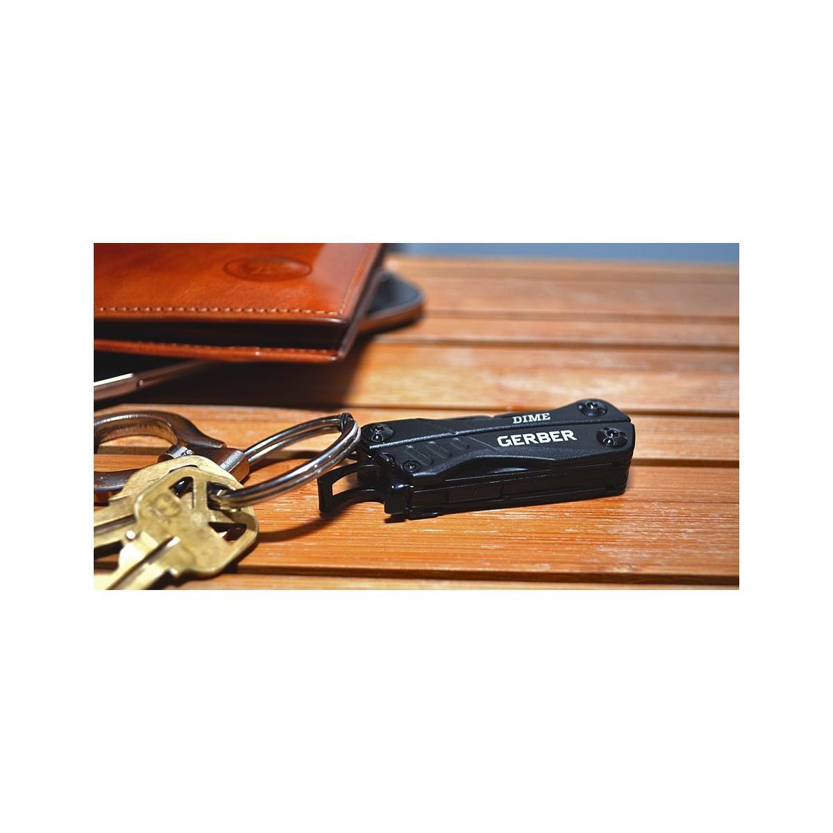 คีม มัลติทูลส์ Gerber Dime Multi-Tool Black (30-000469)