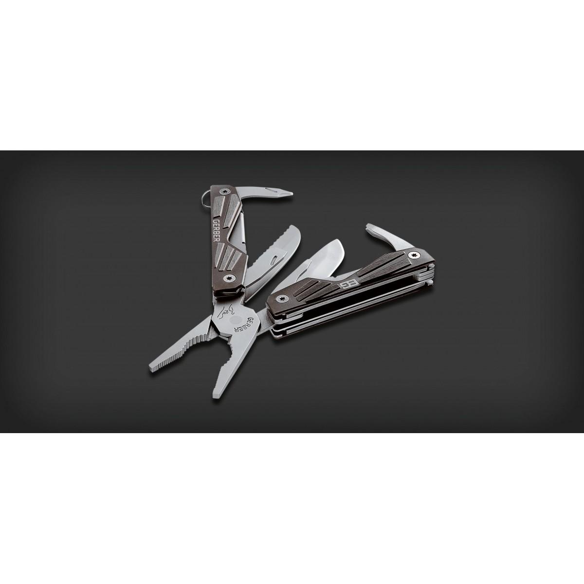 คีม มัลติทูลส์ Gerber Bear Grylls Compact Multi-Tool 10-in-1 (31-000750)