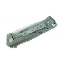 """มีดพับ Zero Tolerance 0808 Flipper Knife Titanium (3.25"""" Satin) ZT"""