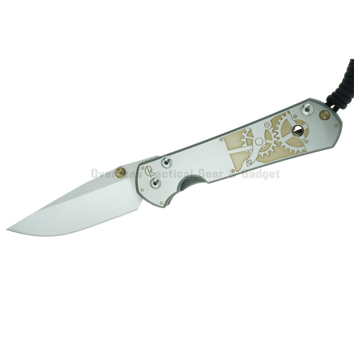 """มีดพับ Chris Reeve Large Sebenza 21 Knife CGG Inside Time (3.625"""" Plain)"""