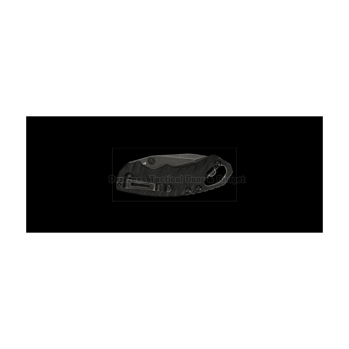 """มีดพับ Kershaw Shuffle II Tanto Liner Lock Knife Black (2.25"""" BlackWash) 8750TBW"""