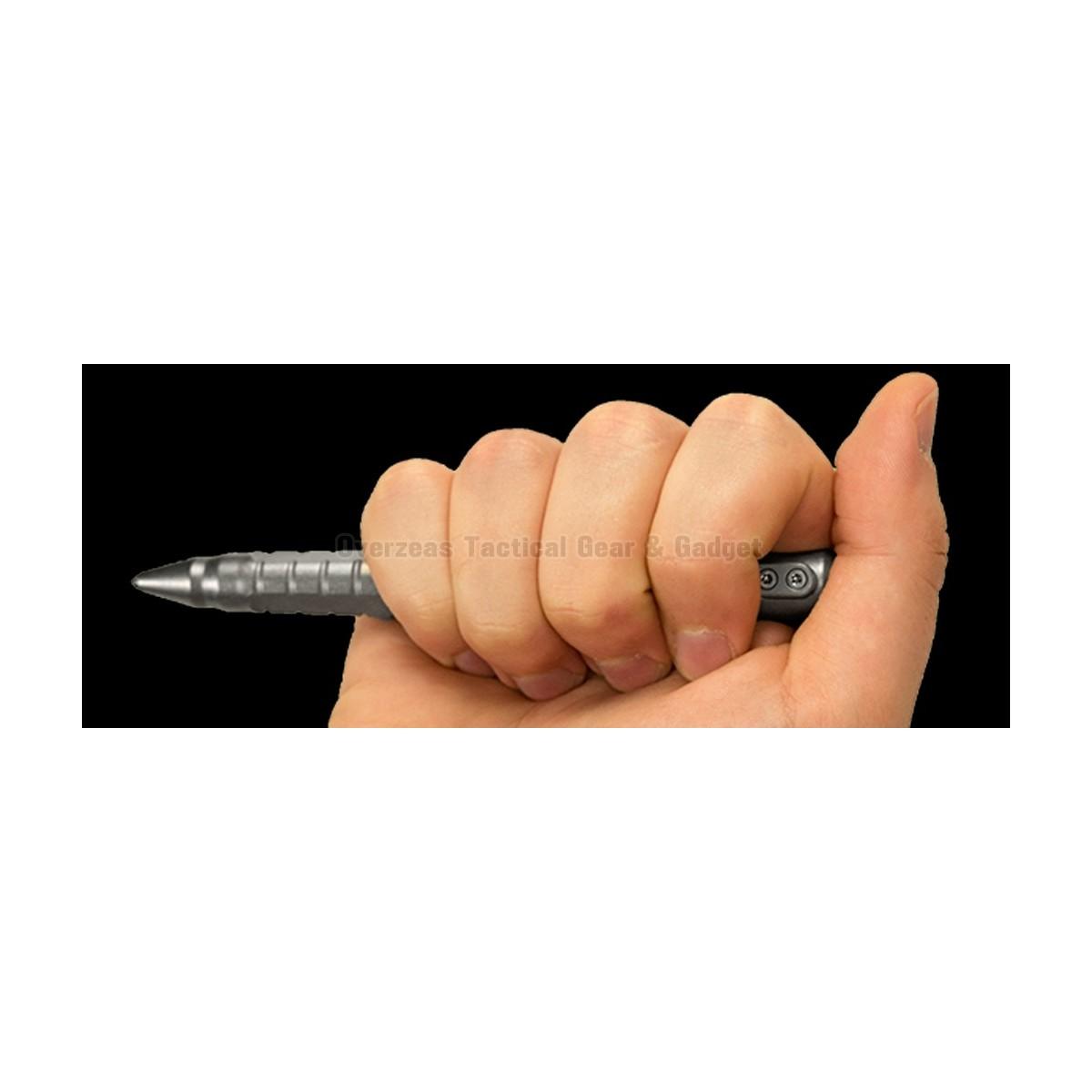 ปากกาแทคติคอล ต่อสู้ ป้องกันตัว Zero Tolerance 0010TI titanium tactical pen (ZT0010TI)