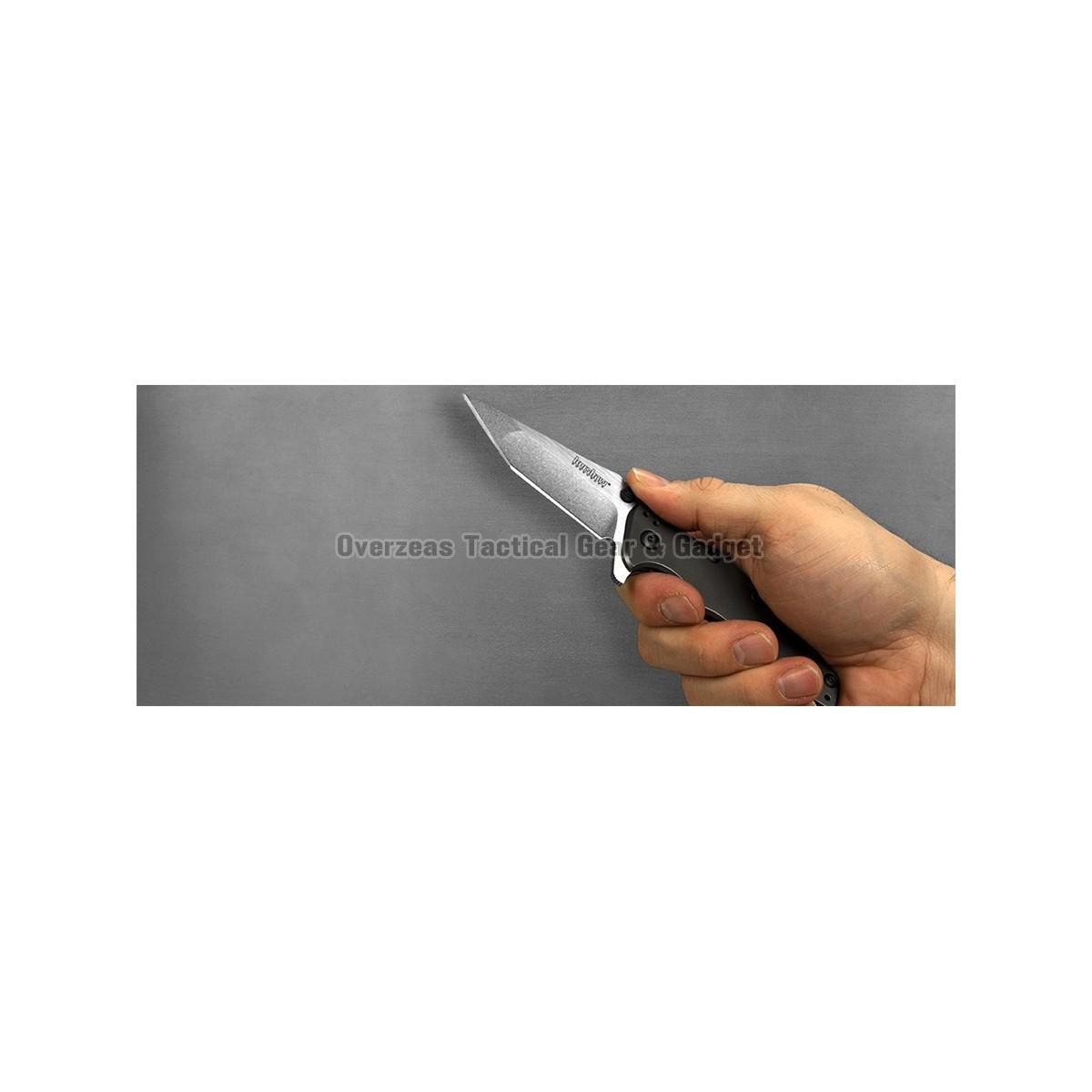 """มีดพับ Kershaw Shield Assisted Opening Knife (3.1"""" Stonewash),3920"""