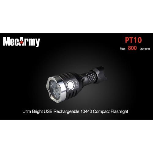 ไฟฉาย MecArmy รุ่น PT-10 (800 Lumen)