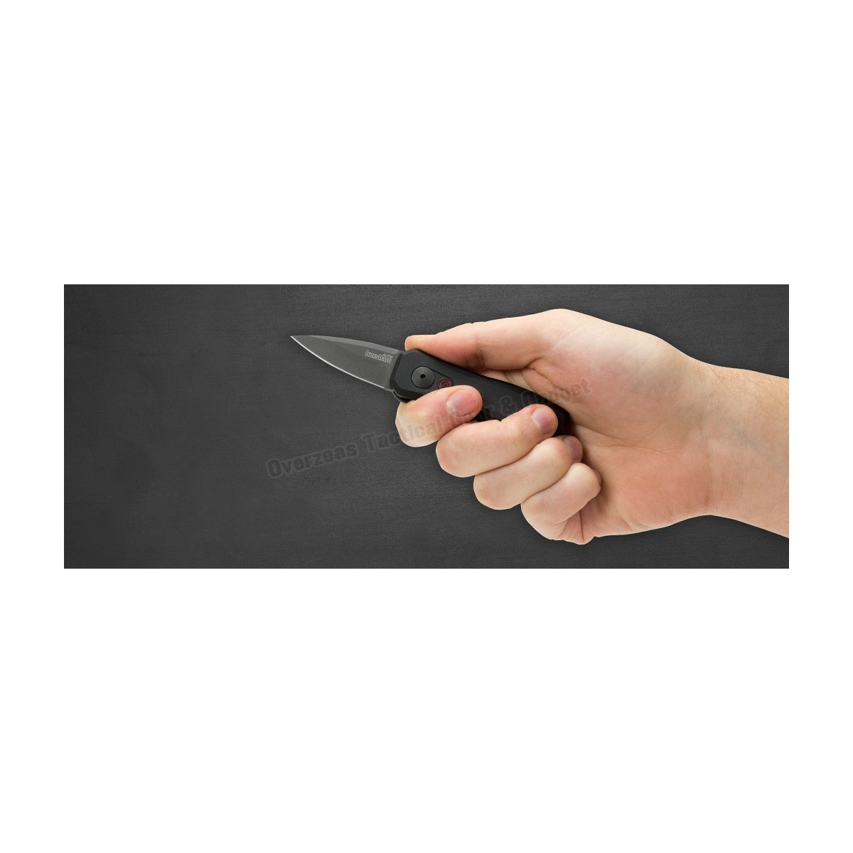 """มีดออโต้ Kershaw Launch 4 CA Legal Automatic Knife (1.9"""" Black) 7500BLK"""