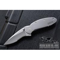 """มีดพับ Kershaw Scallion Assisted Opening Knife (2.25"""" Bead Blast Serr) 1620FLST"""