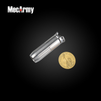 ไฟฉายขนาดเล็ก ห้อยพวงกุญแจ MecArmy BL43 ทรงกระสุนปืน (บอดี้ไททาเนียม) Flashlight CREE XP-G2 130 Lumens,(BL43)