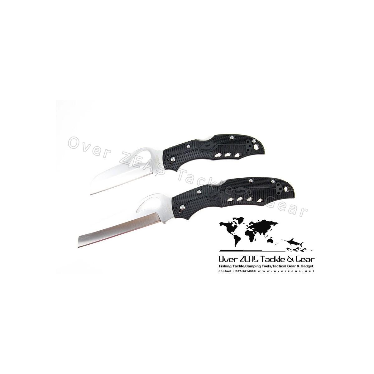 """Spyderco Byrd Series Meadowlark Rescue Lightweight 3-1/8"""" Plain Blade"""