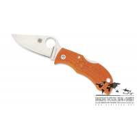 "มีดพับ Spyderco ManBug HAP40 Lightweight Burnt Orange FRN (1.95"" Satin),MBORPE (2016 Sprint Run)"