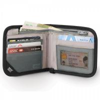 กระเป๋าสำหรับใส่บัตร-เงิน RFIDsafe™ V100 (Navy) RFID blocking bi-fold wallet