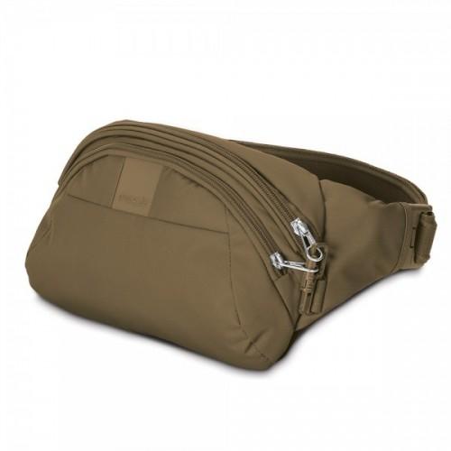 กระเป๋าสะพายคาดเอว Metrosafe™ LS120 (Khaki) anti-theft hip pack