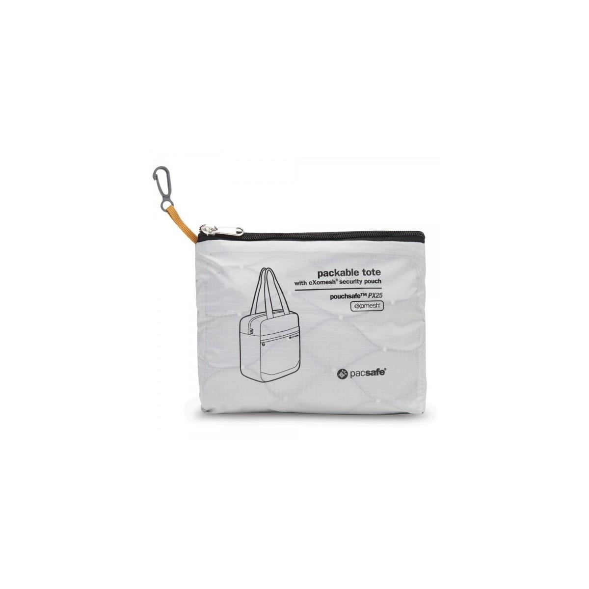 กระเป๋าสะพายแบบพกพา Pouchsafe™ PX25 anti-theft packable tote