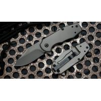 """มีดพับ Kershaw Ember Assisted Opening Flipper Knife (2"""" Gray) Hinderer Design (3560)"""