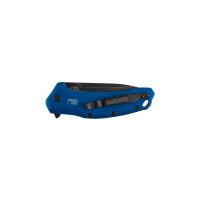"""มีดพับ Kershaw Link Drop Point Knife Blue Aluminum (3.25"""" BlackWash) 1776NBBW"""