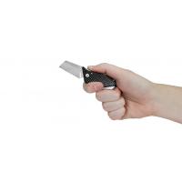 """มีดพับ Kershaw Sinkevich Pub Friction Lock Knife Carbon Fiber (1.6"""" Stonewash) 4036CF"""
